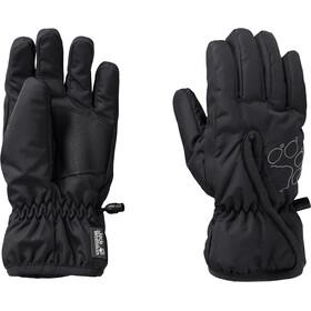 Jack Wolfskin Easy Entry Gloves Kids, zwart